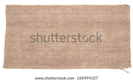natural linen texture for background - stock photo