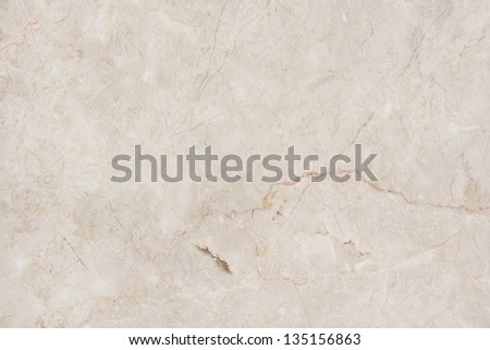 Natural marble. Seamless beige marble background. - stock photo