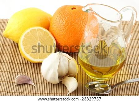 natural medicaments - stock photo