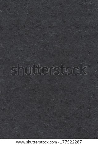 Natural nepalese recycled black paper texture background - stock photo
