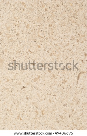 Natural patterns of the marble Buxy Beige honed finish - stock photo