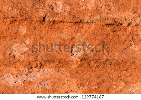 Natural sandstone background in Valley of Fire, Nevada, USA - stock photo