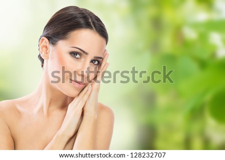 Natural skin care - stock photo