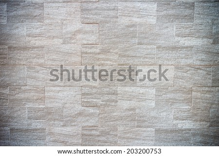 Natural stone granite pieces tiles for walls - stock photo