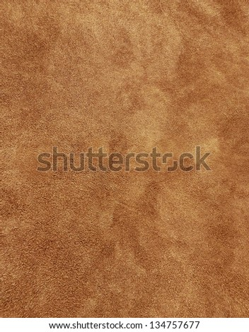 Natural Suede Texture - stock photo