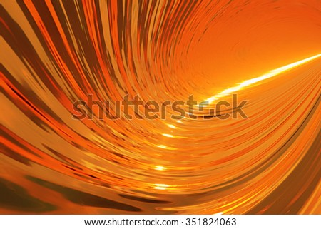 Natural sunny big wave background - stock photo