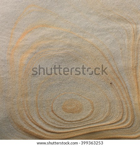 natural texture and pattern on the rock weathered by sea water, wind and see breeze, located at Yehliu National Park in Taiwan - stock photo