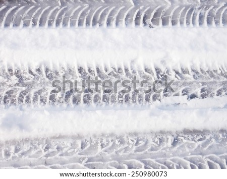 natural texture backgrounds white winter snow - stock photo