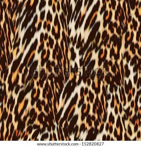 natural wavy animal ~ seamless background - stock photo