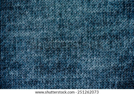 Natural Wool Stockinet to use as background - stock photo