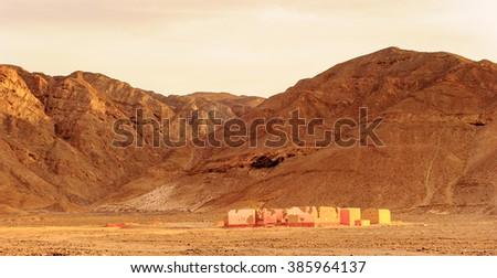 Nature and mountains of Peru, Latin America - stock photo