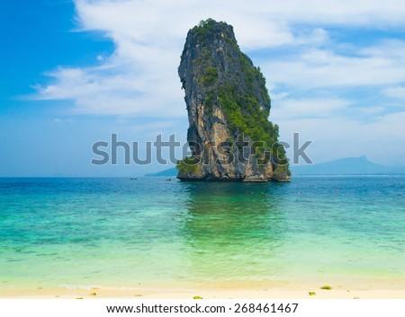 Nature And Nobody Exotic Getaway  - stock photo