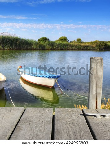 nature and water - stock photo