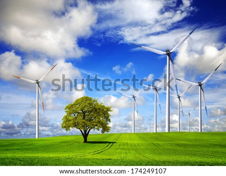 Nature Energy - stock photo