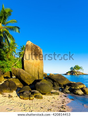 Nature Wallpaper Exotic  - stock photo