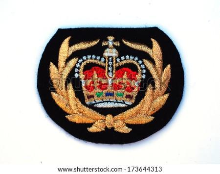 naval crown - stock photo
