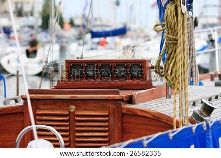 Navigating the seas - stock photo