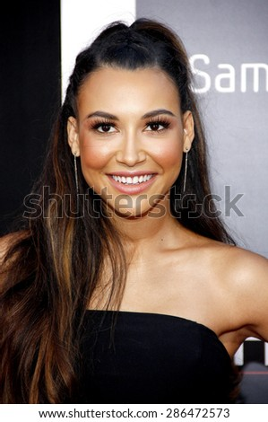 """Naya Rivera at the Los Angeles premiere of """"The Hangover Part III"""" held at the Mann Village Theater in Los Angeles, United States, 200513.  - stock photo"""