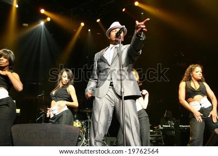 "Ne-yo, Jam'n 94.5 ""Monster Jam"" October 27th, 2008, TD Banknorth Garden, Boston, MA - stock photo"