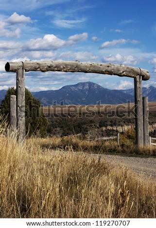 Near Swan Valley, Idaho, Bonneville County, Caribou Targhee National Forest - stock photo