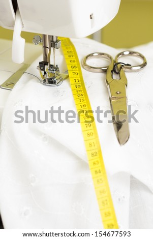 Necessary sewing accessories - stock photo