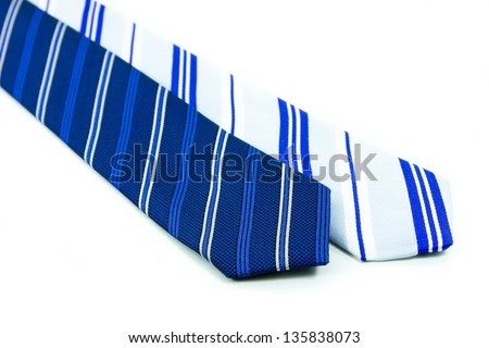 Neck Tie  men's Fashion - stock photo