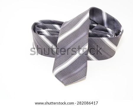 Necktie on white background - stock photo