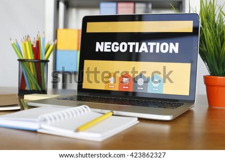 Negotiation Concept - stock photo