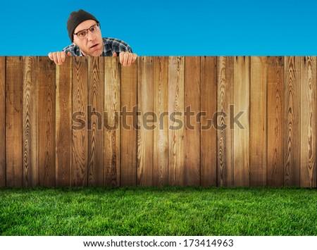 neighborhood - stock photo