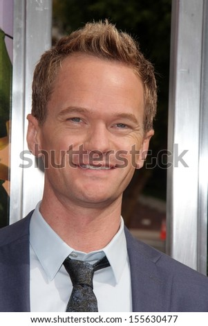 "Neil Patrick Harris at the ""Cloudy With A Chance of Meatballs 2"" Los Angeles Premiere, Village Theater, Westwood, CA 09-21-13 - stock photo"