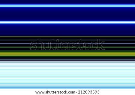 Neon Blue Vertical Striped Background - stock photo