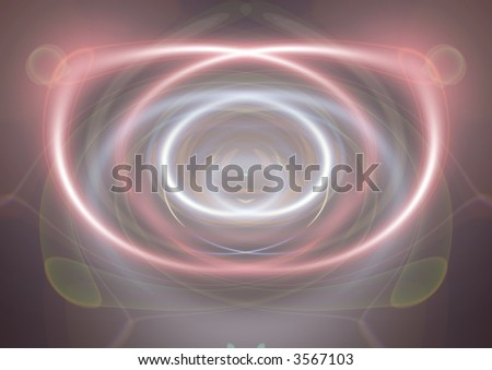 neon lights - stock photo