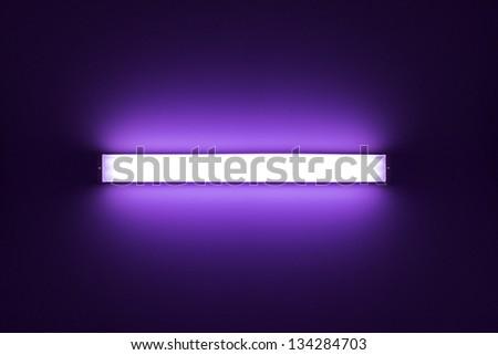 Neon tube light - stock photo