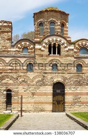 Nesebar cathedral, Bulgaria - stock photo
