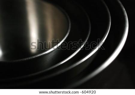 Nested Bowls III - stock photo