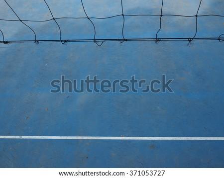 netball - stock photo