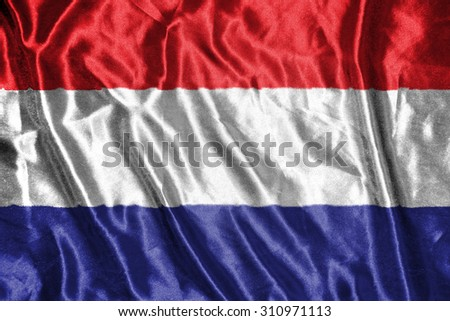netherland flag - stock photo