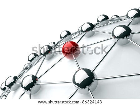 networking and internet concept - stock photo