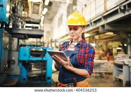 Networking at plant - stock photo