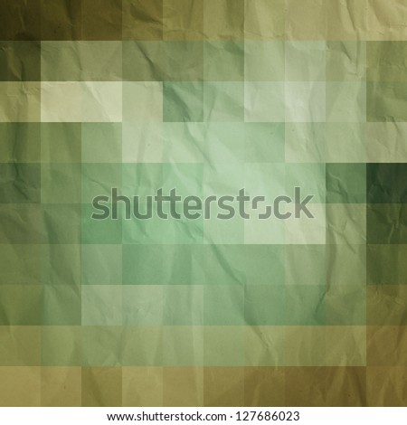 new abstract background with colored mosaic - stock photo