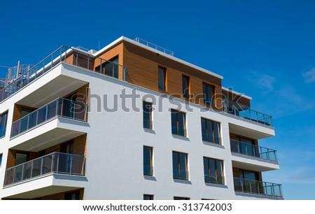 new apartment - stock photo