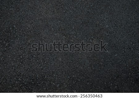 New asphalt road surface background - stock photo