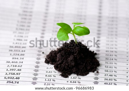 New business perspective - stock photo
