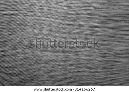 New carbon fiber texture in black and white tone - stock photo