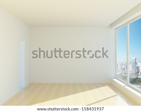 New empty office or apartments - stock photo