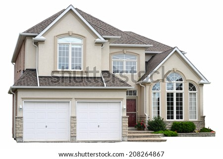 New family house - stock photo