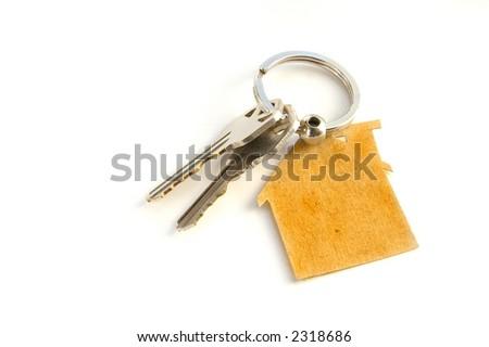 New House keys - stock photo