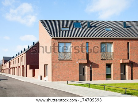 New housing - stock photo