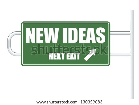 New ideas - stock photo