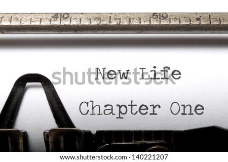 New life - stock photo